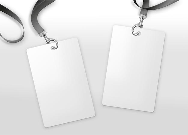 Paczka posiadacza karty na białym tle