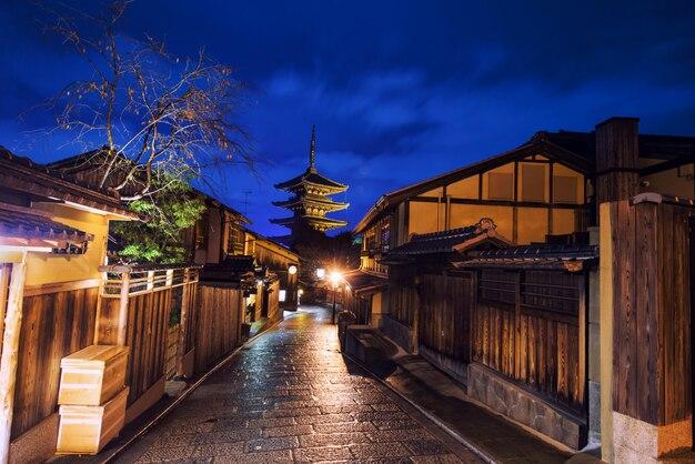 Pagoda yasaka w higashiyama, kioto