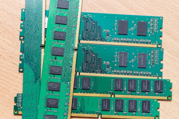 Pakiet modułów pamięci dimm ddr w usłudze