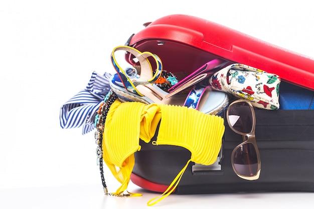 Pakowanie walizki na wycieczkę