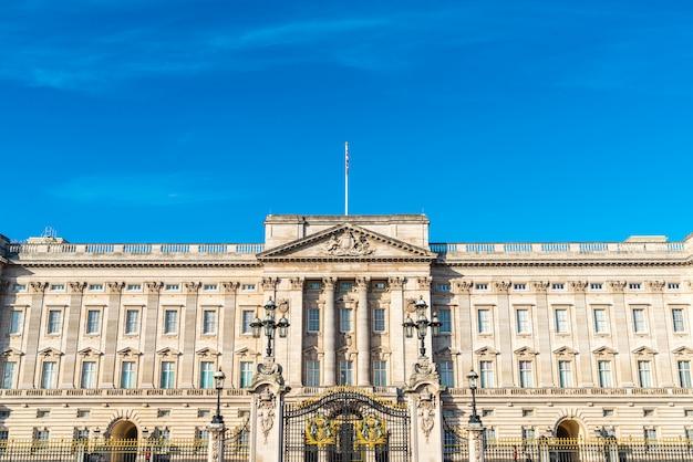 Pałac buckingham w londynie, wielka brytania