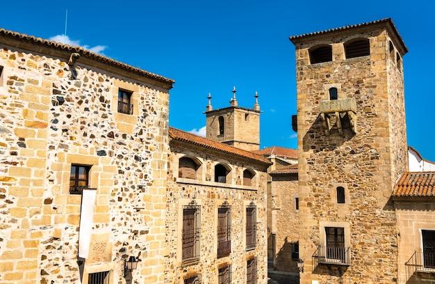 Pałac golfines de abajo w caceres hiszpania