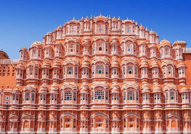 Pałac hawa mahal, jaipur