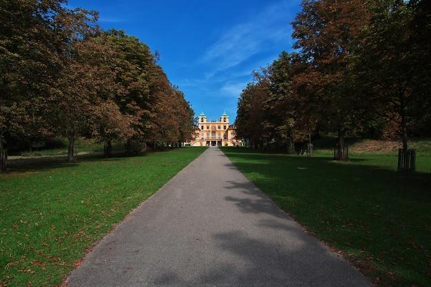 Pałac i park w ludwigsburg, niemcy