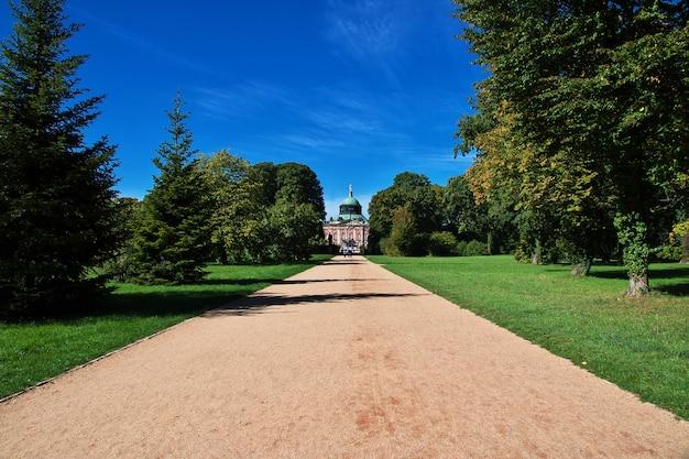 Pałac i park w poczdamie, niemcy