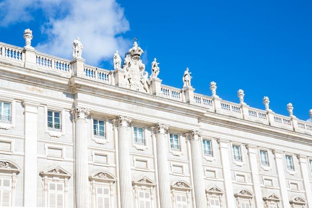 Pałac królewski, madryt, hiszpania