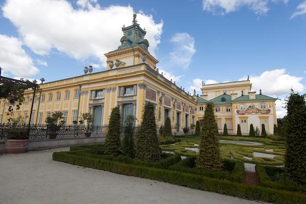 Pałac królewski na warszawskim wilanowie