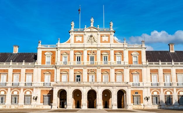 Pałac królewski w aranjuez, dawna hiszpańska rezydencja królewska