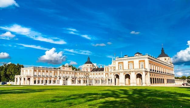 Pałac królewski w aranjuez w hiszpanii