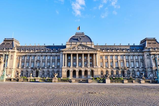 Pałac królewski w brukseli w belgii