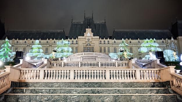 Pałac kultury w iasi, rumunia