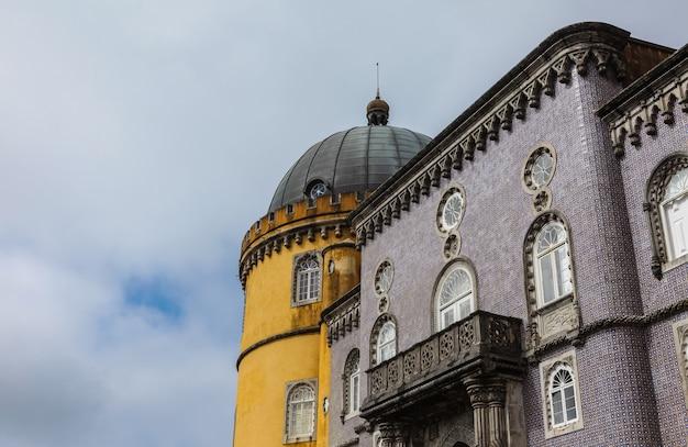 Pałac narodowy pena w sintrze, portugalia