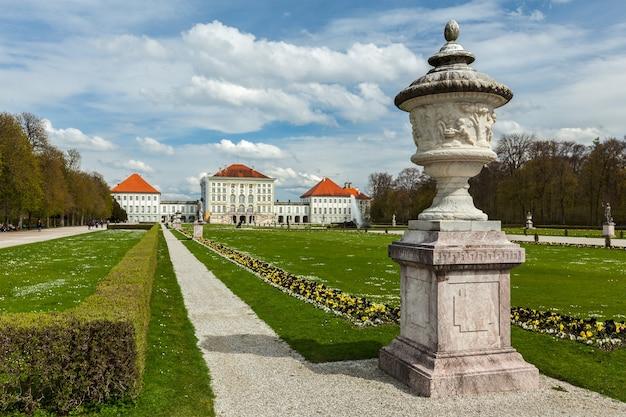 Pałac nymphenburg w monachium w niemczech