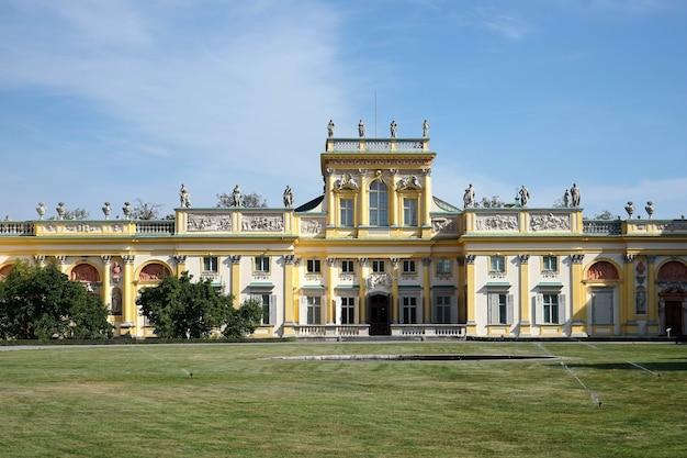 Pałac w wilanowie w warszawie polska