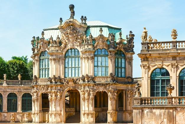Pałac zwinger w dreźnie, niemcy