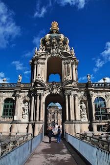 Pałac zwinger w dreźnie, saksonia, niemcy