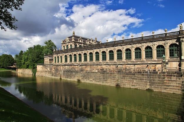 Pałac zwinger w dreźnie, saksonia niemcy