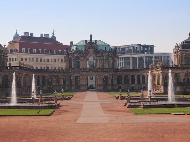 Pałac zwinger w dreźnie
