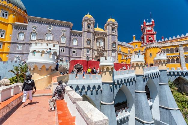 Palacio da pena - sintra, lizbona, portugalia, europa.