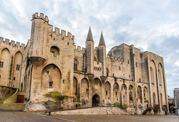 Palais des papes of avignon, wpisane na listę unesco we francji