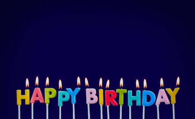 Palenie świec urodzinowych