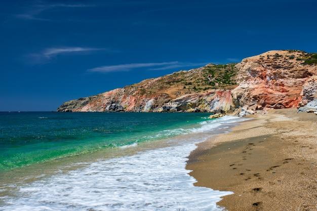 Paleochori beach milos island cyklady grecja