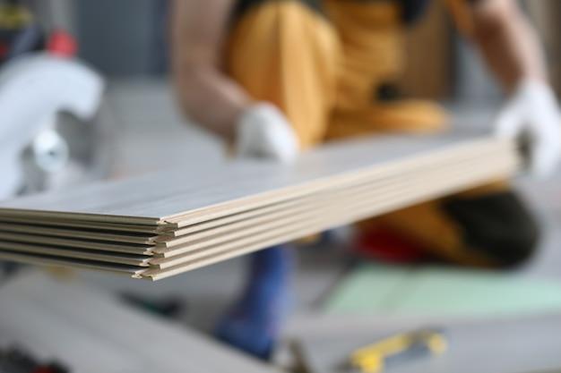 Panele podłogowe. koncepcja podłóg laminowanych diy