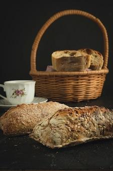 Panes chleb śniadanie panaderia