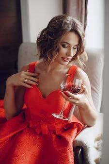 Pani z winem