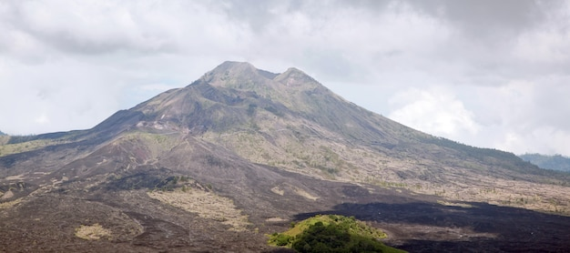Panorama batur wulkan