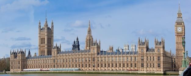 Panorama big ben londyn