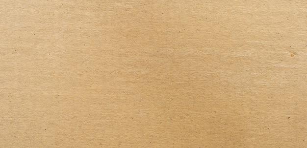 Panorama brown papieru textureand tekstura z kopii przestrzenią i tło