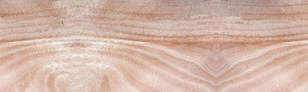 Panorama drewniana ściana z pięknym vintage brązowym drewnianym tłem tekstury