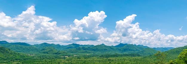 Panorama pejzaż natura