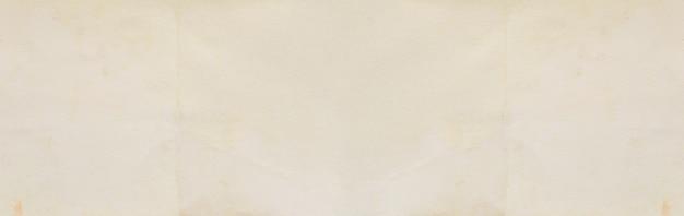 Panorama tekstury starego kremowego papieru