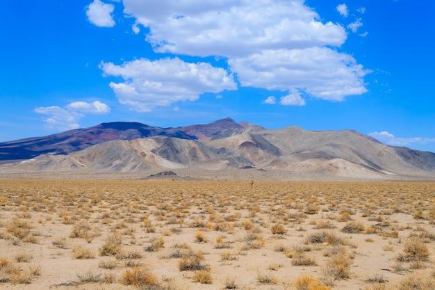 Panorama z doliny śmierci w kalifornii