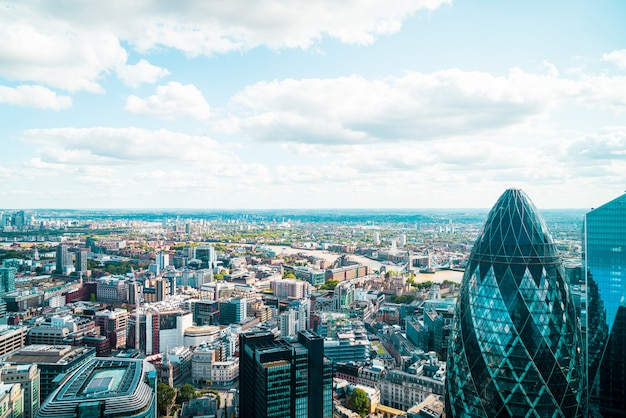 Panoramę londynu