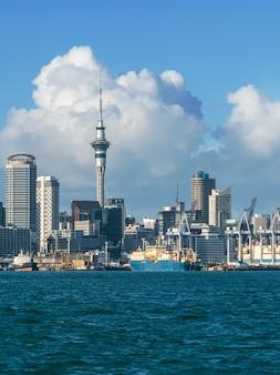 Panoramę miasta auckland, nowa zelandia