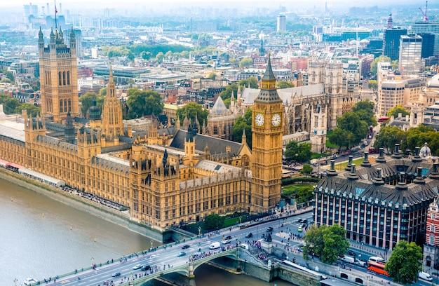 Panoramę miasta londyn, wielka kindom