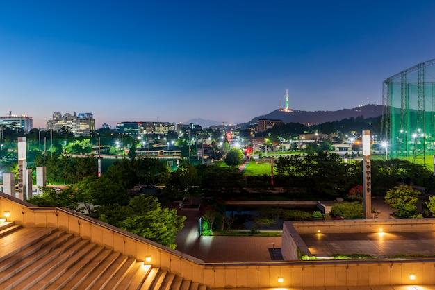 Panoramę miasta seul
