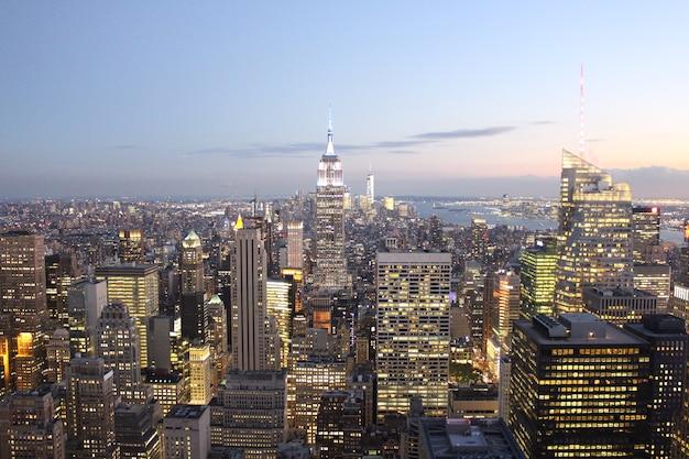 Panoramę newyork