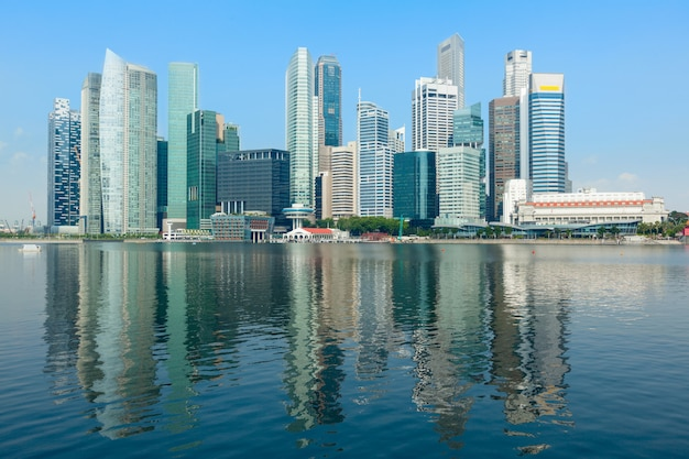 Panoramę singapuru