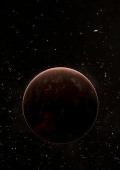 Panoramiczna noc galaktyki