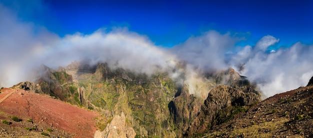 Panoramiczny widok z pico do arieiro