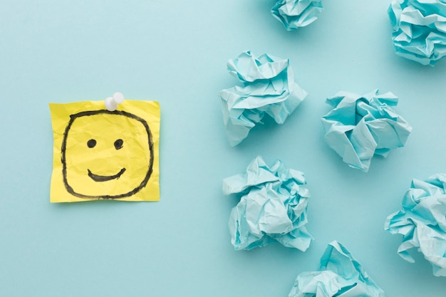 Papier do rysowania emoji i motolitu