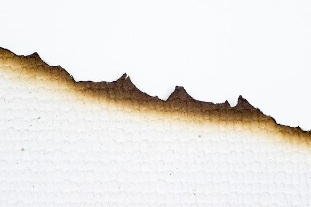 Papier palił starą grunge abstrakta teksturę
