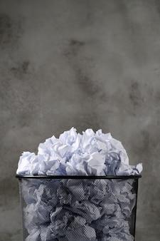 Papier pomarszczony