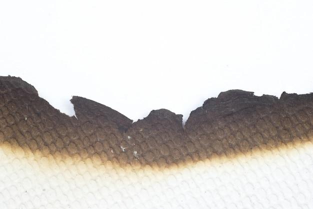 Papier spalił stary streszczenie tekstura tło grunge