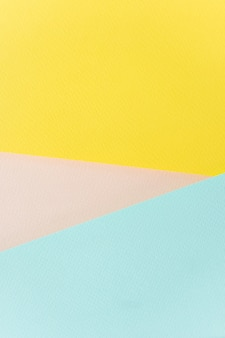 Papier tekstury żółty, różowy i niebieski.