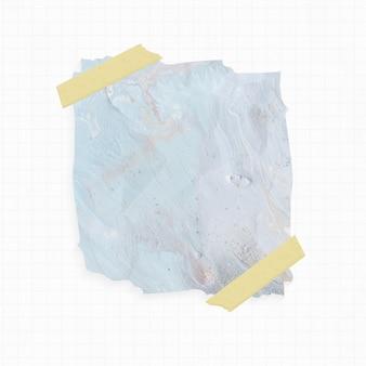 Papier z niebieskim tłem akwareli